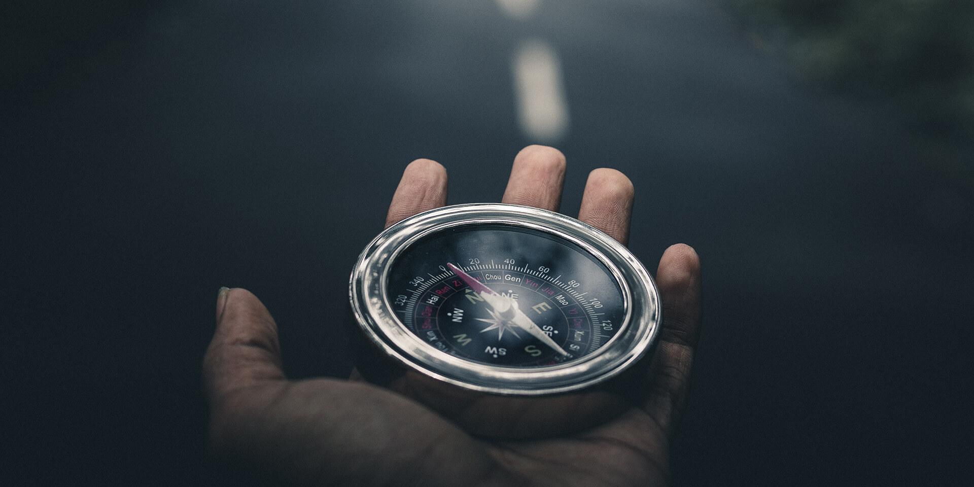 Ein Kompass